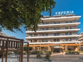Esperia City Hotel, отель в Родосе