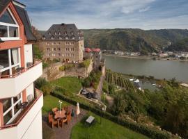 Romantik Hotel Schloss Rheinfels, Hotel in Sankt Goar