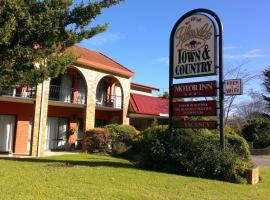 Idlewilde Town & Country Motor Inn, hotel near Pambula Merimbula Golf Club, Pambula