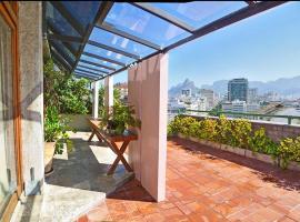 Ipanema's Beautiful Penthouse, hotel near Post 8 - Ipanema, Rio de Janeiro