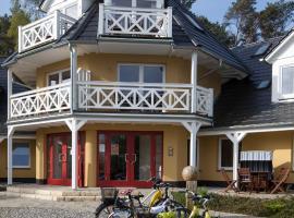 Strandhäuser Blankenfohrt, hotel in Ueckeritz