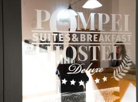 Pompei Hostel Deluxe, hostel in Pompei