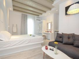 Naxian Spirit Suites & Apartments, guest house in Agia Anna Naxos