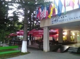 Hotel Diana, hotel din Geoagiu Băi