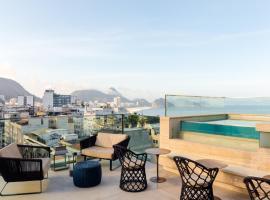 Ritz Copacabana Boutique Hotel, хотел в Рио де Жанейро