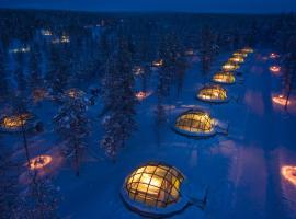 Kakslauttanen Arctic Resort - Igloos and Chalets, hotelli Saariselällä