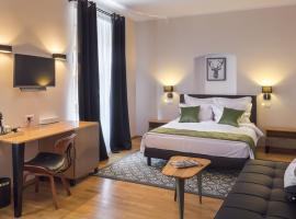 Antler Boutique Hotel, отель в Брашове