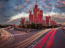 Kotelnicheskaya Royal Tower, apartment in Moscow