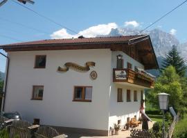 Haus zur Römerstrasse, family hotel in Biberwier