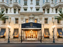 Le Pavillon Hotel, boutique hotel in New Orleans