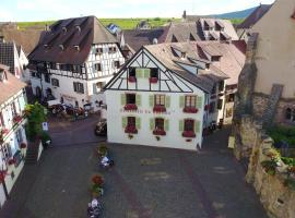 L'Hostellerie du Château, hotel in Eguisheim