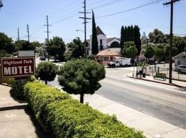 Highland Park Motel, pet-friendly hotel in Los Angeles