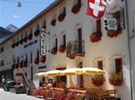 Hotel Crusch Alba, hotel Santa Maria Val Müstairban