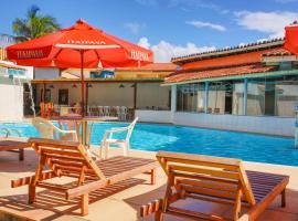 Garça Branca Praia Hotel, hotel in Praia de Taperapuan, Porto Seguro