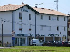 Hotel Chez Mattin, hôtel à Bayonne près de: Guyenne et Gascogne, Siège