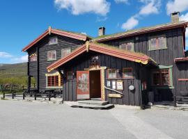 Dovregubbens Hall, resort village in Vålåsjø