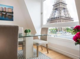 Résidence Charles Floquet, serviced apartment in Paris