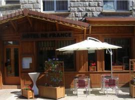 Hôtel de France, hôtel à Le Bessat près de: EMLYON Campus Saint-Etienne