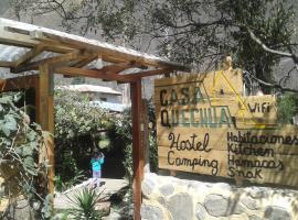 Casa Quechua Hostel Camping, hostel in Ollantaytambo