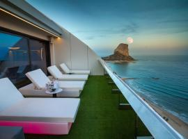 Suitopía - Sol y Mar Suites Hotel, отель в Кальпе