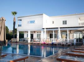 Zeus Hotel, beach hotel in Kefalos