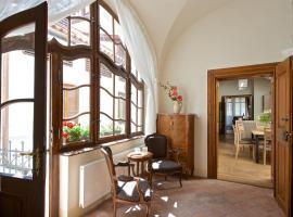 Residence U Mecenáše, hotel dicht bij: Praagse burcht, Praag