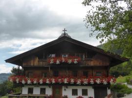Heachhof, Ferienwohnung in Alpbach