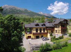 Pension Villa Kunerad, hotel near Starý Smokovec-Hrebienok, Vysoké Tatry
