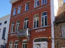 Hotel Asiris, hôtel à Bruges près de: Guilde des arbalétriers de Saint-Georges