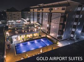Gold Airport Suites, hotel in zona Aeroporto di Bangkok-Suvarnabhumi - BKK,