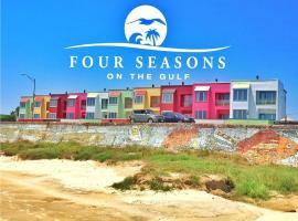 Four Seasons on the Gulf, villa in Galveston