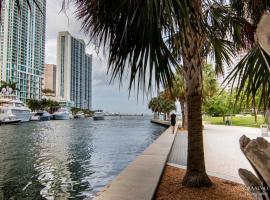 LUXURY 5-STAR CONDO @47TH floor in Icon Brickell !, apartment in Miami