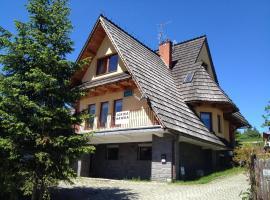 Willa Gorska Hawira, homestay in Kościelisko