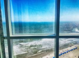 Ocean Front Corner Unit, serviced apartment in Myrtle Beach