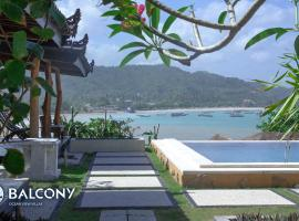 Balcony Ocean View Villas, beach hotel in Kuta Lombok