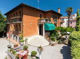 Villa Albertina, hotell i Venedig-Lido
