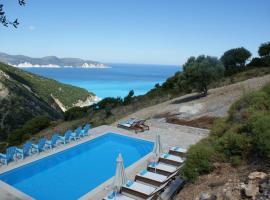 Myrtos View Apartments, hotel blizu znamenitosti Plaža Mirtos, Anomeriá
