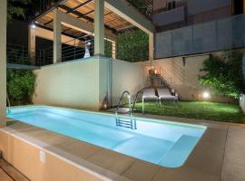Luxury Pool House in Chania, pet-friendly hotel in Chania Town
