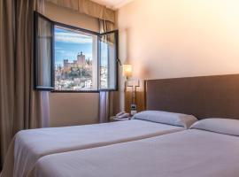 Hotel Inglaterra, hotel in Granada