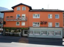 Hotel Cafe Lorenz, отель в городе Хоэнэмс