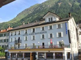Hotel & Restaurant Forni, hotel in Airolo