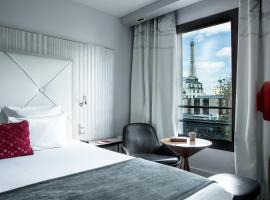 Le Parisis - Paris Tour Eiffel, отель в Париже, рядом находится Эйфелева башня