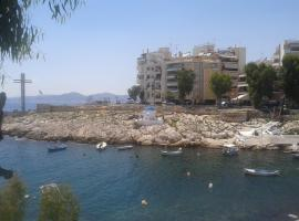 Super 36sqm Junior Suite in luxurious picturesque area, apartment in Piraeus