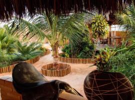 Casa do Jardim, hotel in Canoa Quebrada