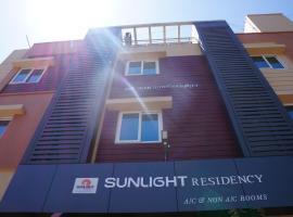 Sunlight Residency, hôtel à Chennai près de: Aéroport international de Chennai - MAA