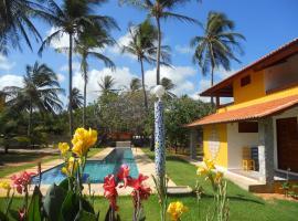 Pousada Temperança, hotel with pools in Beberibe