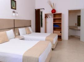 Hotel Villas Bambu, hotel in Chetumal