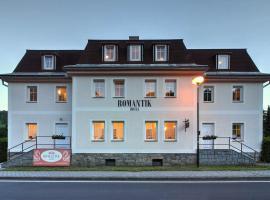 Hotel Romantik – hotel w mieście Lipova Lazne