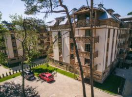 Sosnowe Tarasy, family hotel in Mielno