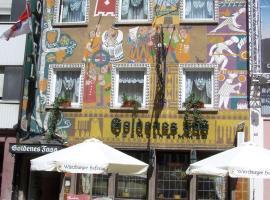 Hotel Goldenes Faß, отель в Вюрцбурге